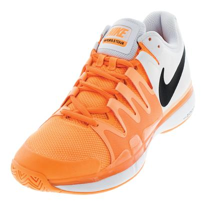 Men`s Zoom Vapor 9.5 Tour Tennis Shoes Tart and Black