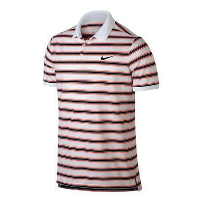 Men`s Court Dry Stripe Tennis Polo
