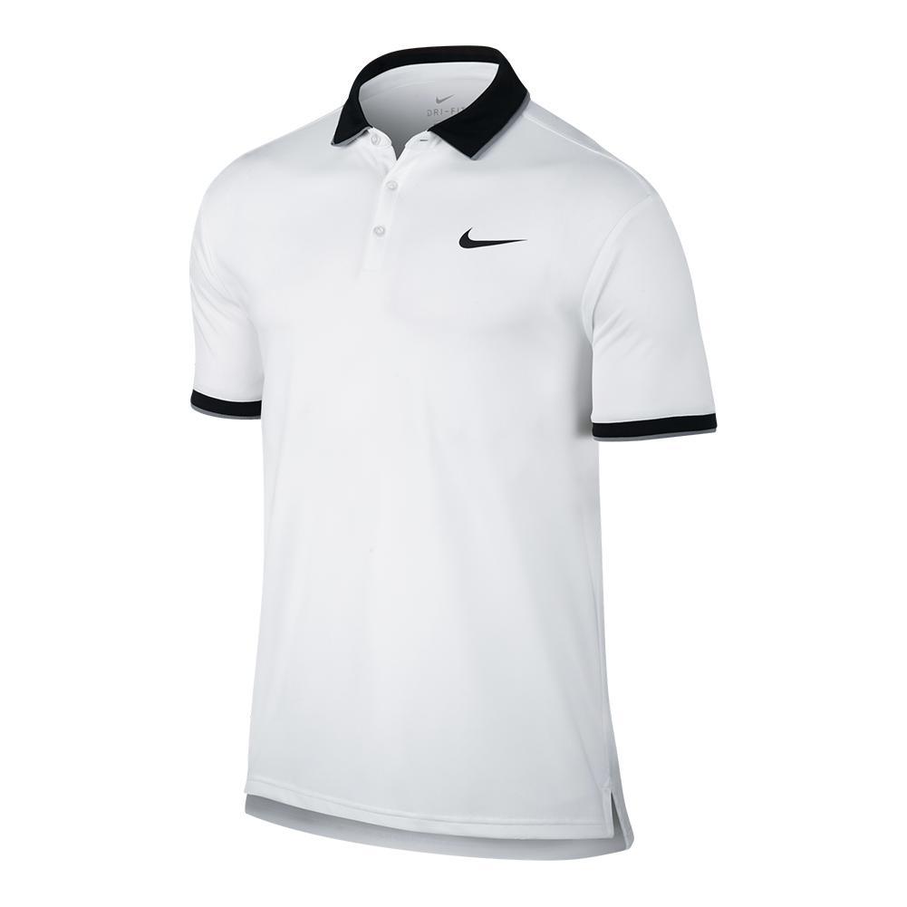 Men's Court Team Dry Tennis Polo