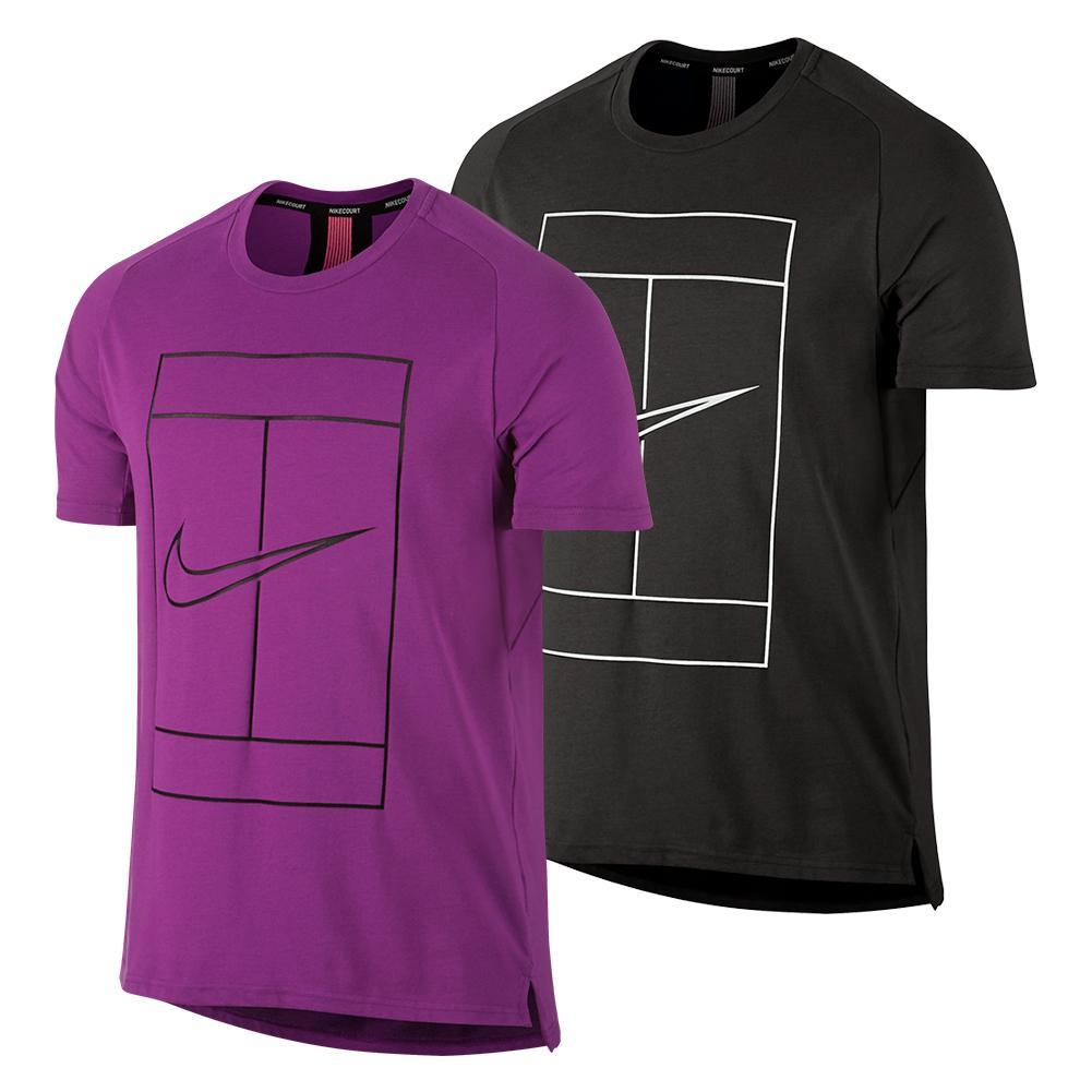 Men's Court Baseline Dry Tennis Top
