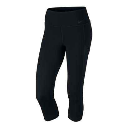 Women`s Court Tennis Capri Black