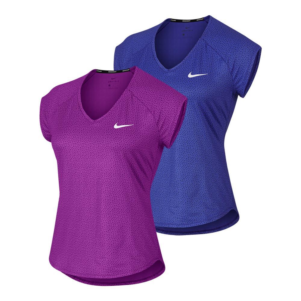 Women's Court Short Sleeve Pure Tennis Top