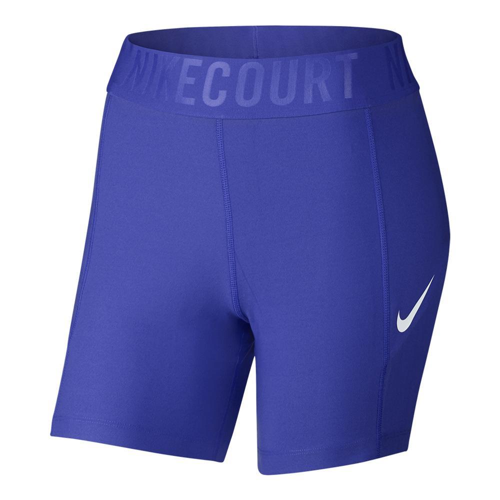 Women's Baseline 5 Inch Tennis Short Paramount Blue