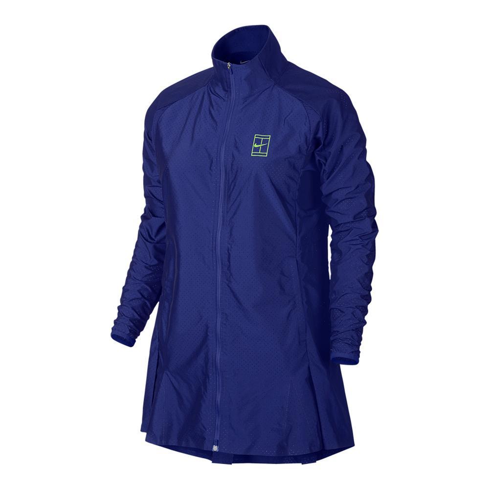 Women's Court Premier Tennis Jacket Paramount Blue