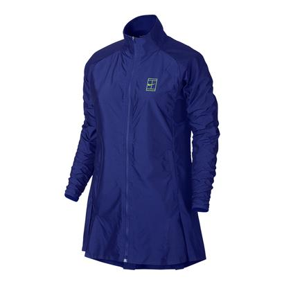 Women`s Court Premier Tennis Jacket Paramount Blue
