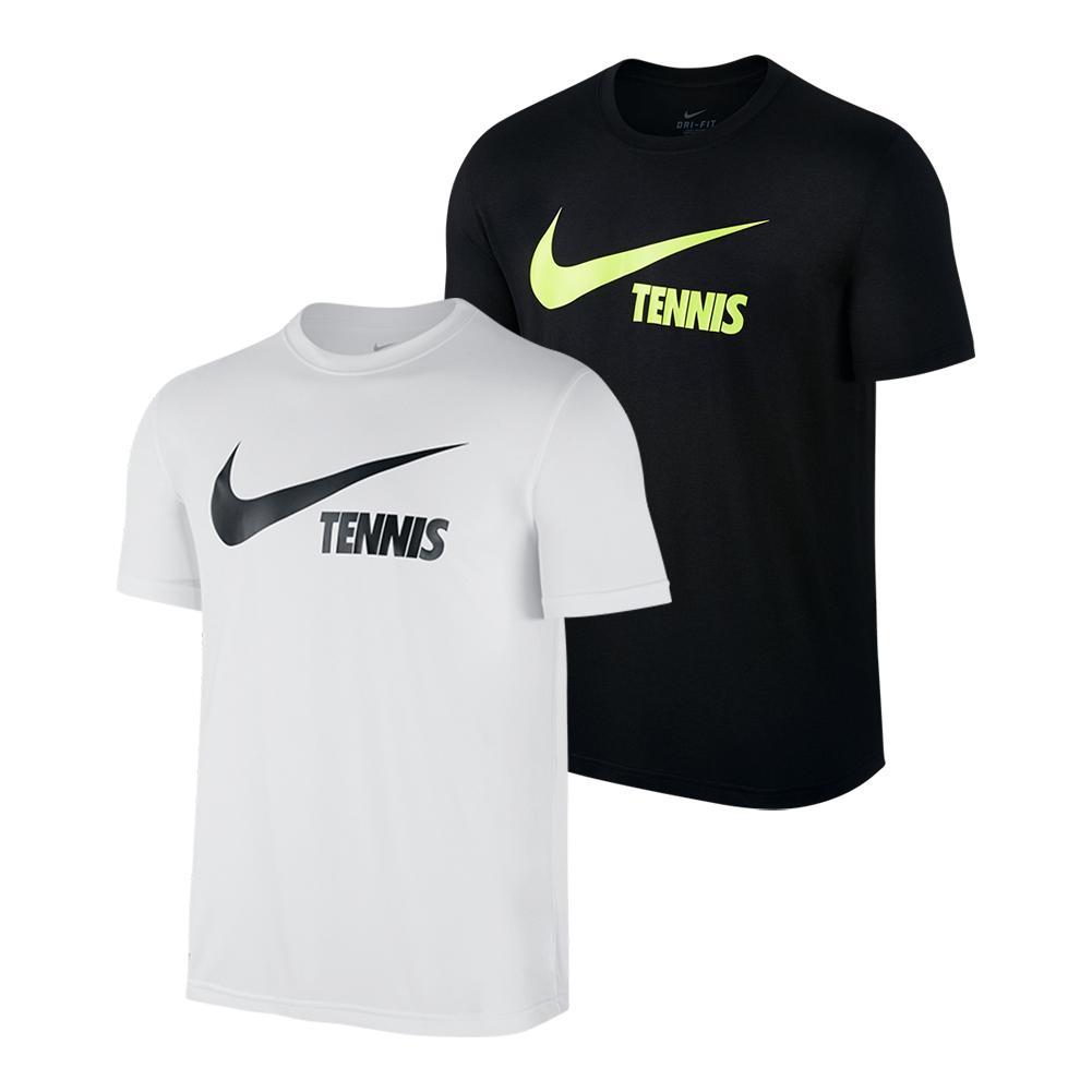 Men's Swoosh Tennis Tee