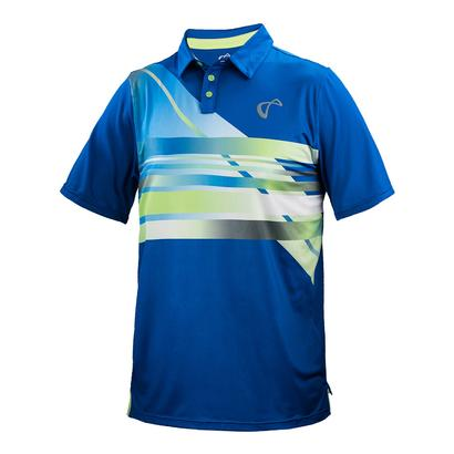 Men`s Hombre Mesh Back Tennis Polo Strom