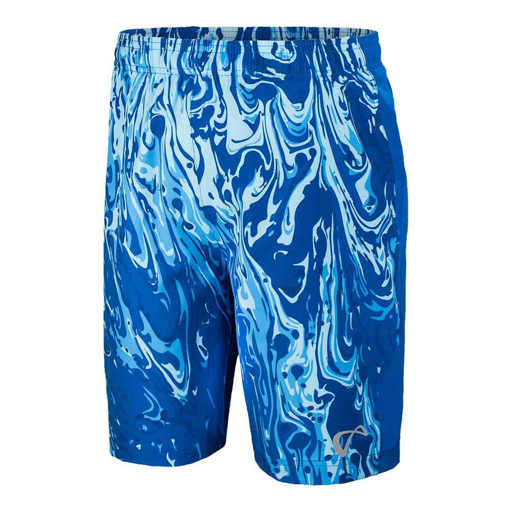 Men's Lava Woven Tennis Short Storm