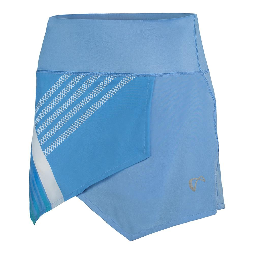 Women's Stripe Origami Tennis Skort Vista