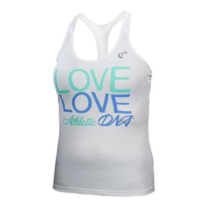 Girls` Love Graphic Tennis Tank Vista