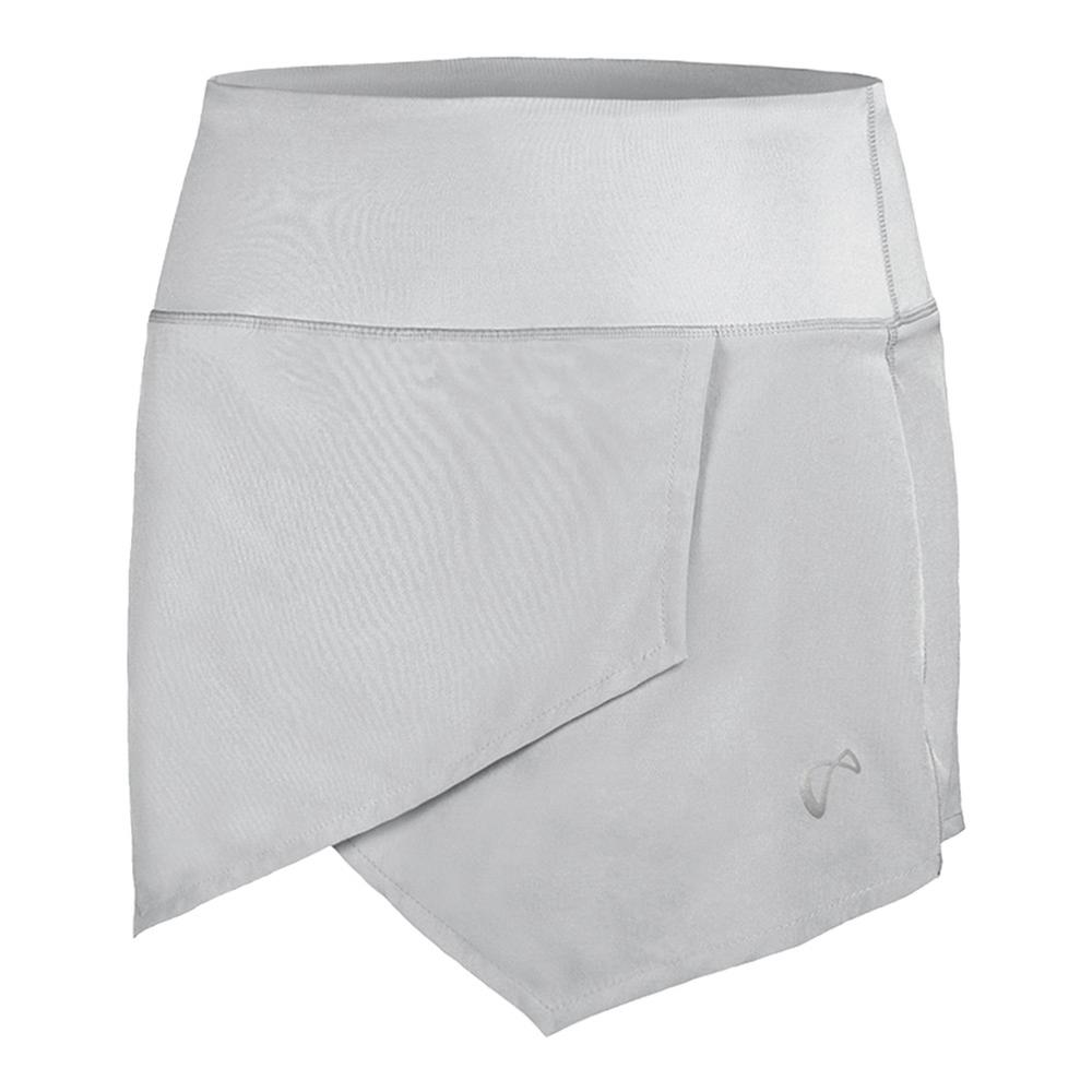 Women's Origami Tennis Skort White