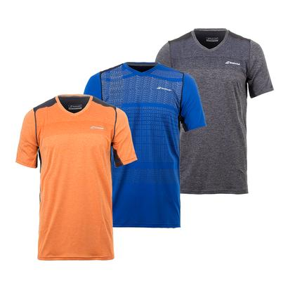 Men`s Performance V-Neck Tennis Top