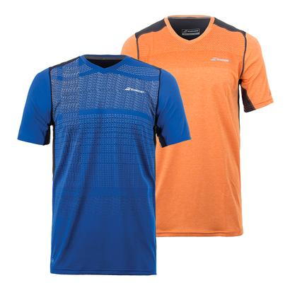 Boys` Performance V-Neck Tennis Top
