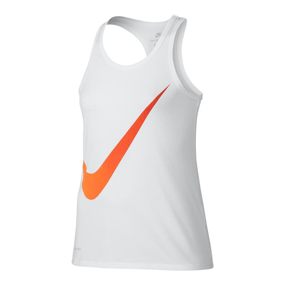 Girls ` Dry Exploded Swoosh Tank