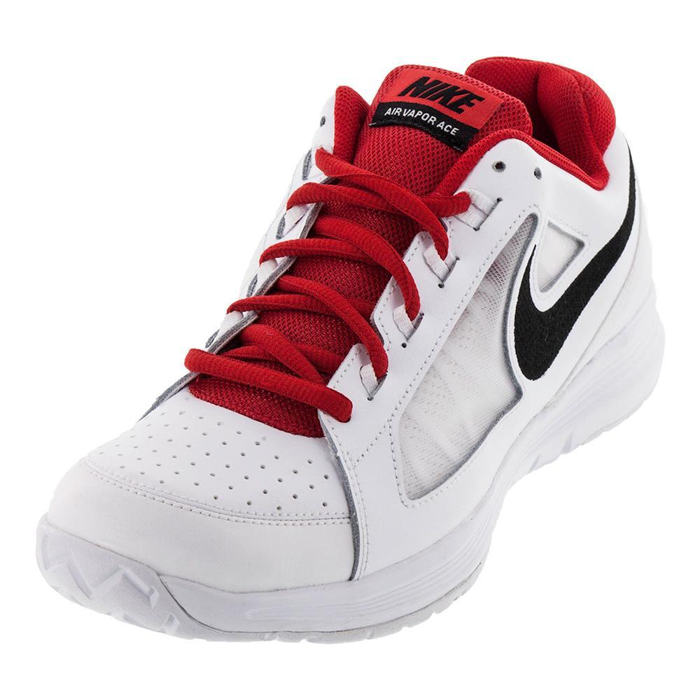 Men's Air Vapor Ace Tennis Shoes White And Black