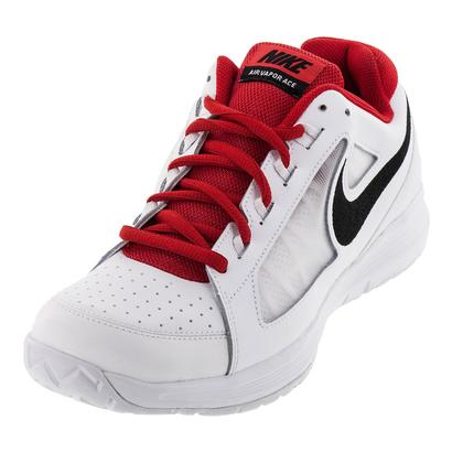 Men`s Air Vapor Ace Tennis Shoes White and Black