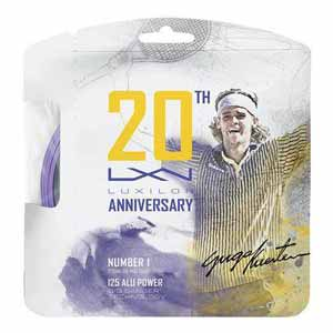 ALU Power 125 16L 20 Year Anniversary Tennis String Purple