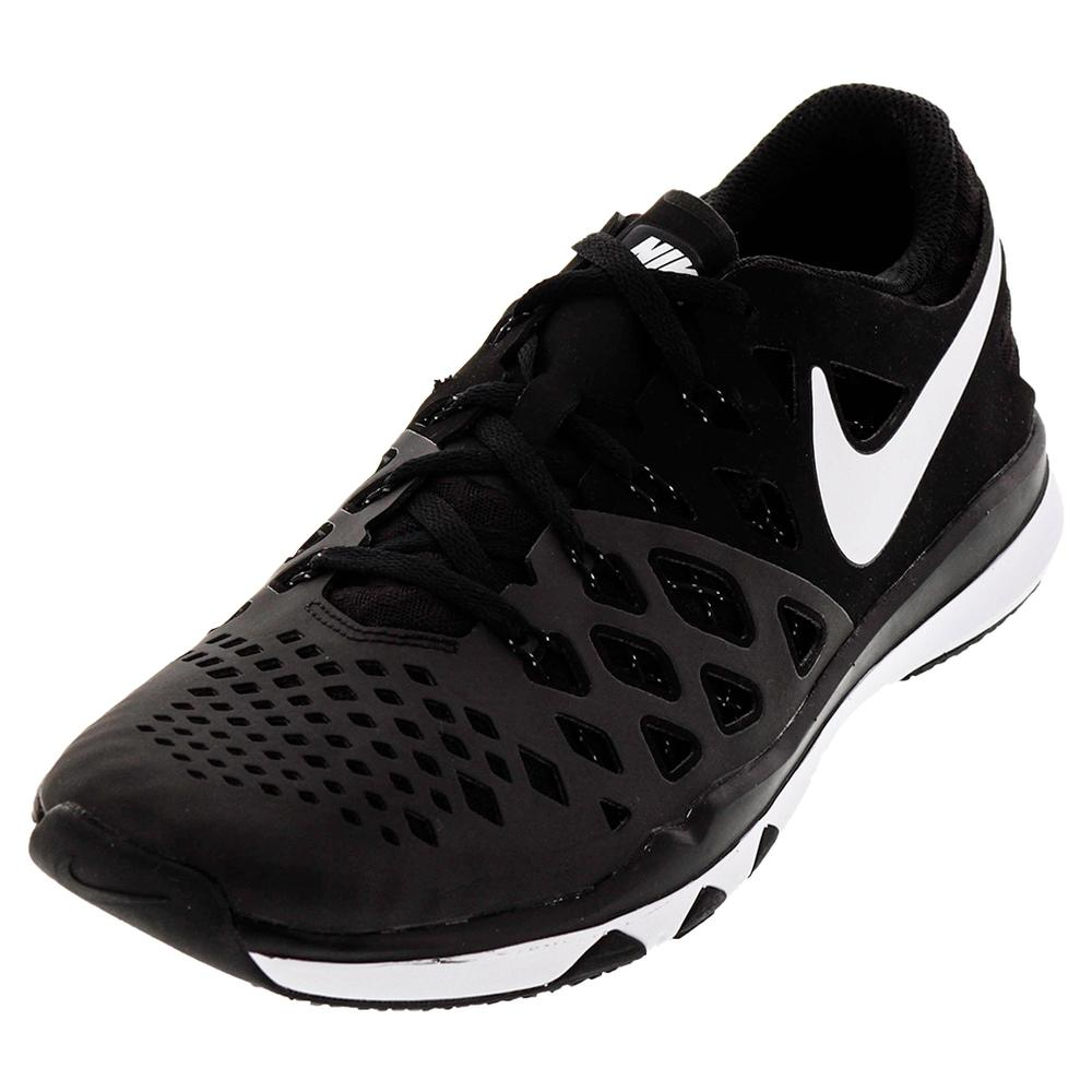 Men's Train Speed 4 Training Shoes Black And White