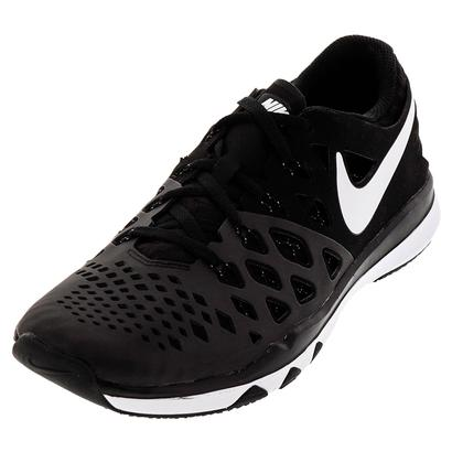 Men`s Train Speed 4 Training Shoes Black and White