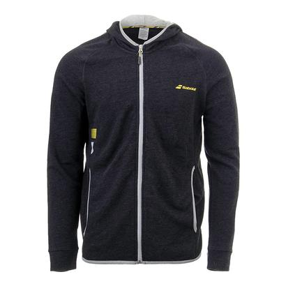 Men`s Core Hood Tennis Sweat Black