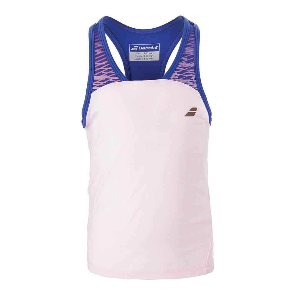Girls ` Performance Racerback Tennis Top