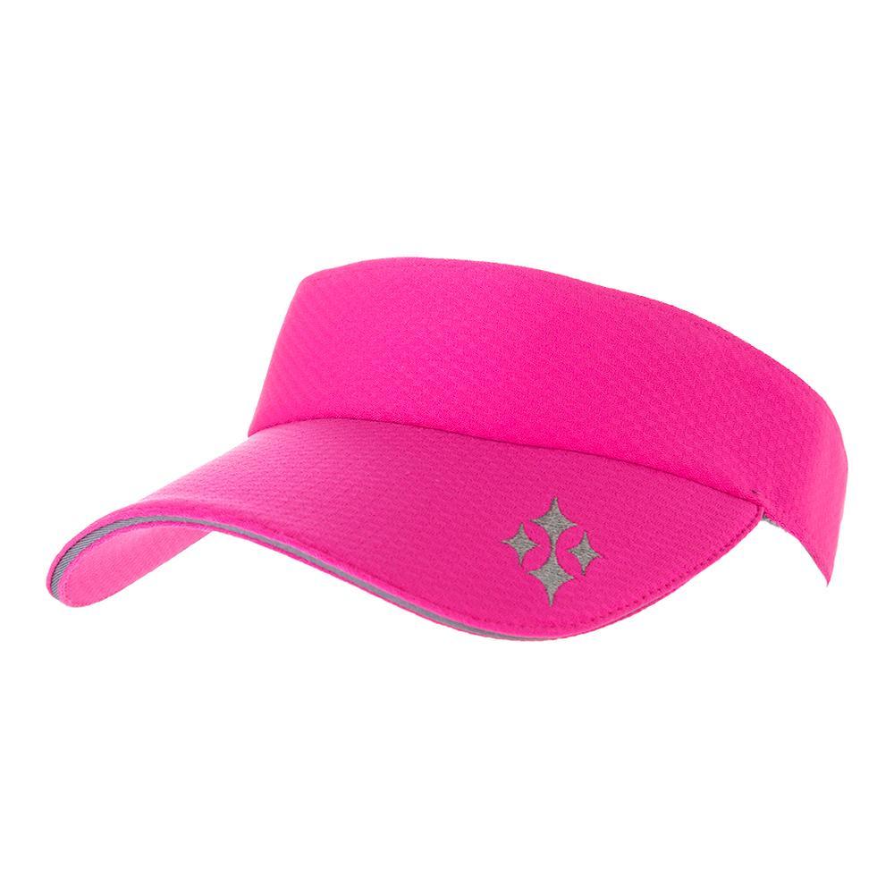 Women's Tennis Visor Fluorescent Pink