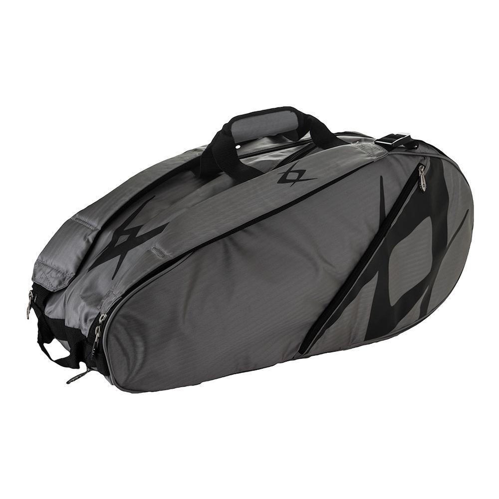 Team Combi Tennis Bag Gray And Black