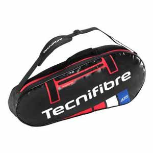 Team Endurance 3 Pack Tennis Bag Black