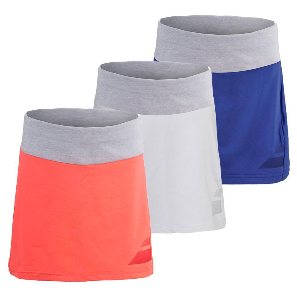 Girls ` Performance Tennis Skirt
