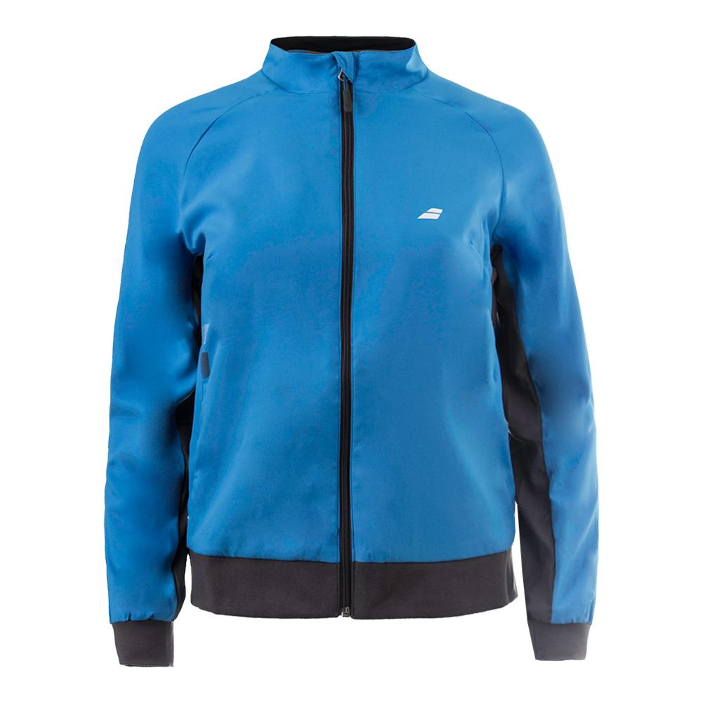 Girls ` Core Club Tennis Jacket Drive Blue