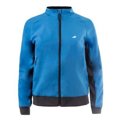 Girls` Core Club Tennis Jacket Drive Blue