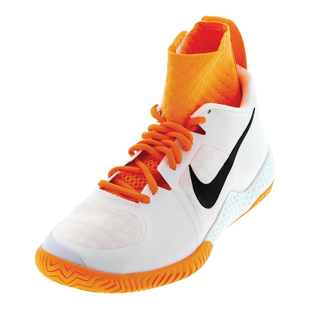 20814bd59e9561 Nike Women s Flare Tennis Shoes in White and Black