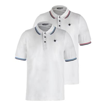 Men`s Tipped Tennis Court Polo