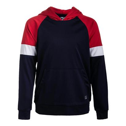 Boys` Modern Tennis Hoody Navy