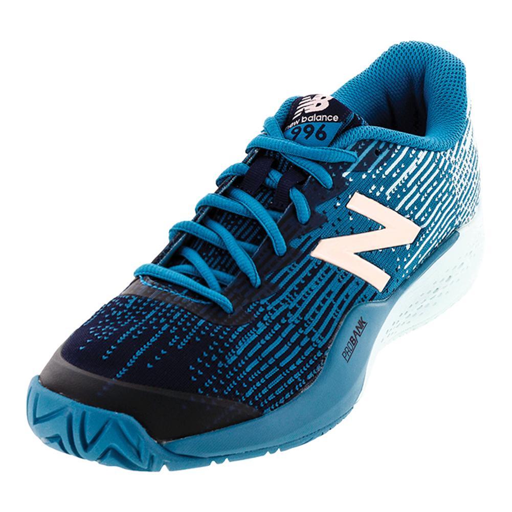 Women's 996 B Width Tennis Shoes Deep Ozone Blue
