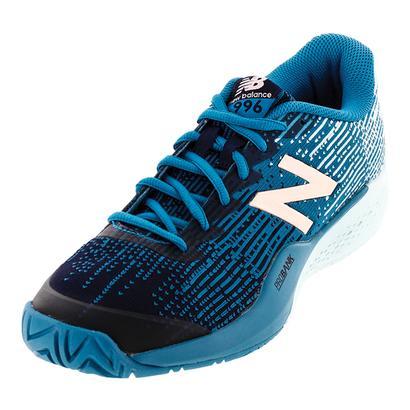 Women`s 996 B Width Tennis Shoes Deep Ozone Blue