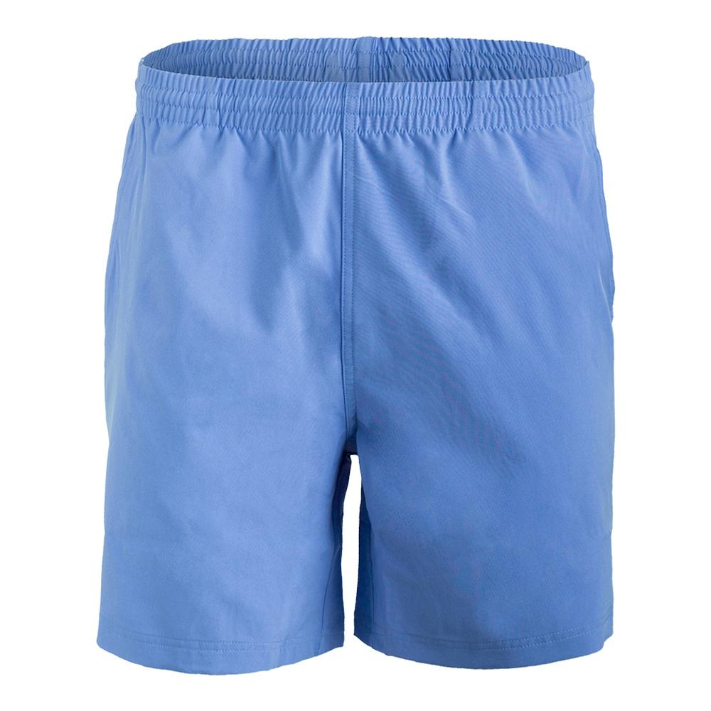 Men's Seasonal Solid 7 Inch Tennis Short Carolina Blue