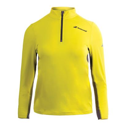 Boys` Core 1/2 Zip Tennis Top Aero Yellow