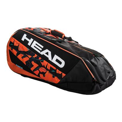 Radical 12R Monstercombi Tennis Bag Black and Orange