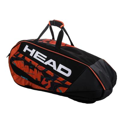 Radical 9R Supercombi Tennis Bag Black and Orange