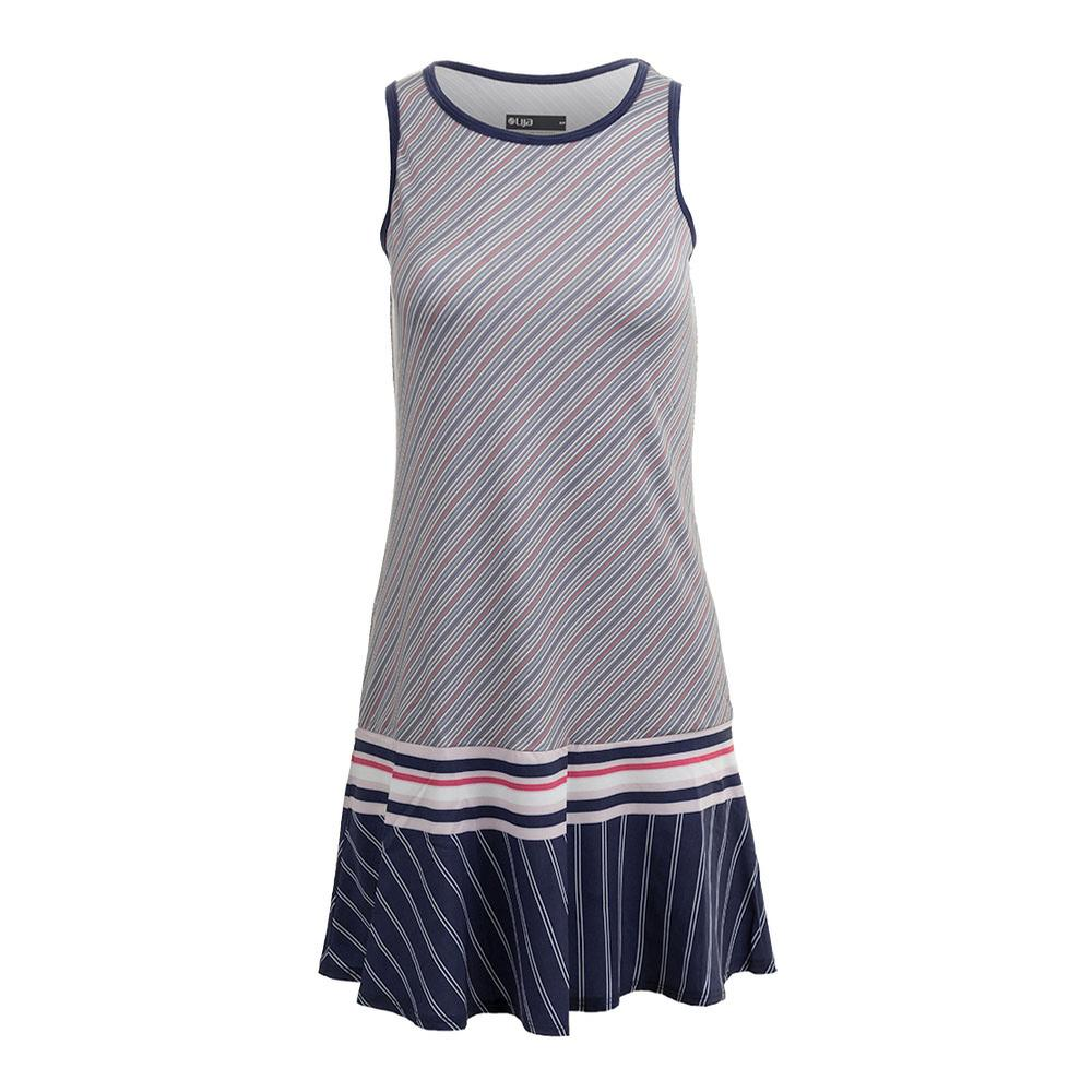 Women's Shake It Up Tennis Dress Multi Stripe