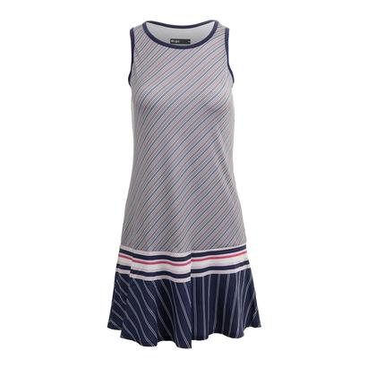Women`s Shake it Up Tennis Dress Multi Stripe