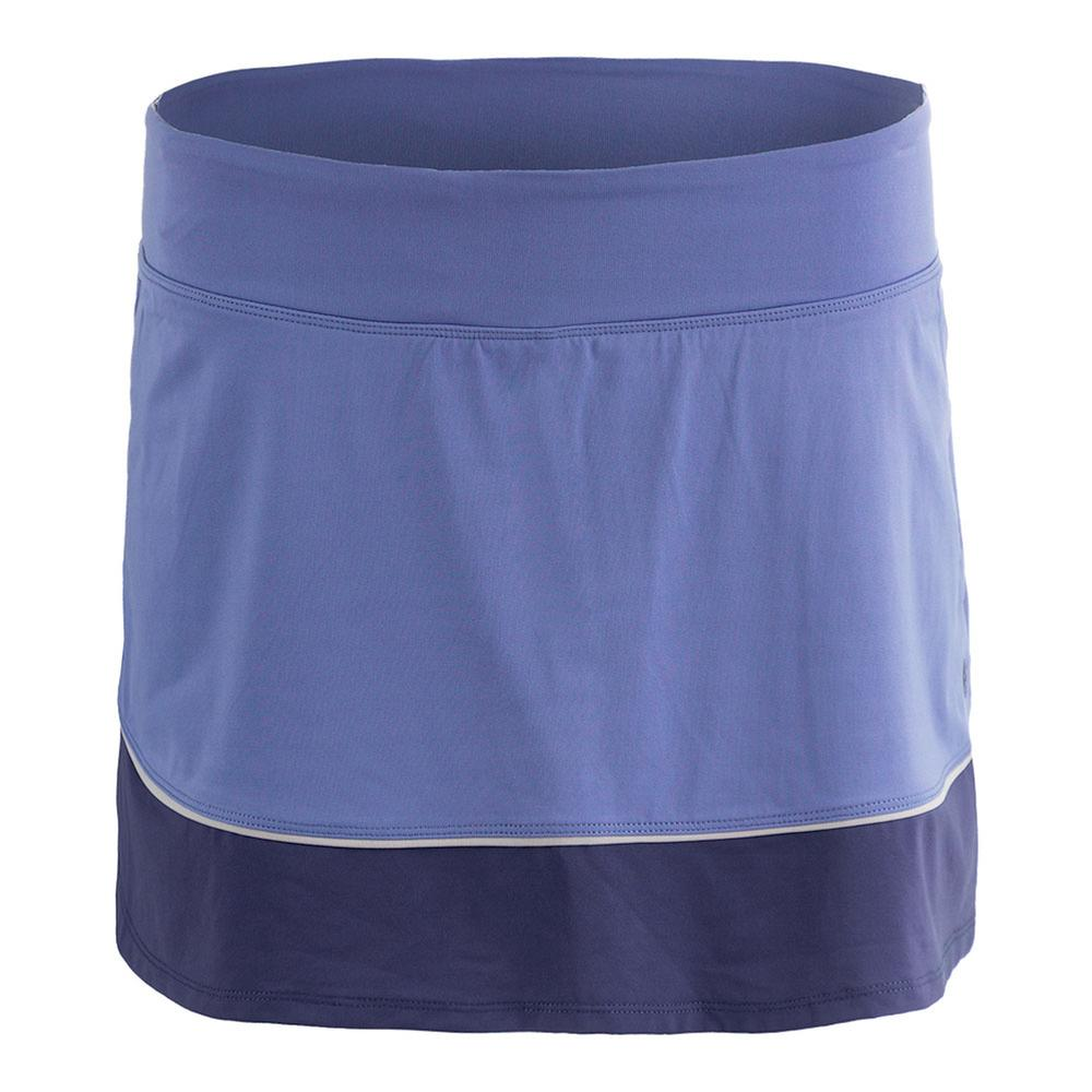 Women's Borderline Tennis Skort Dusk And Indigo