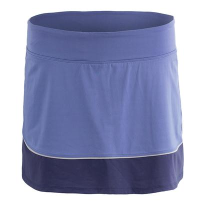 Women`s Borderline Tennis Skort Dusk and Indigo