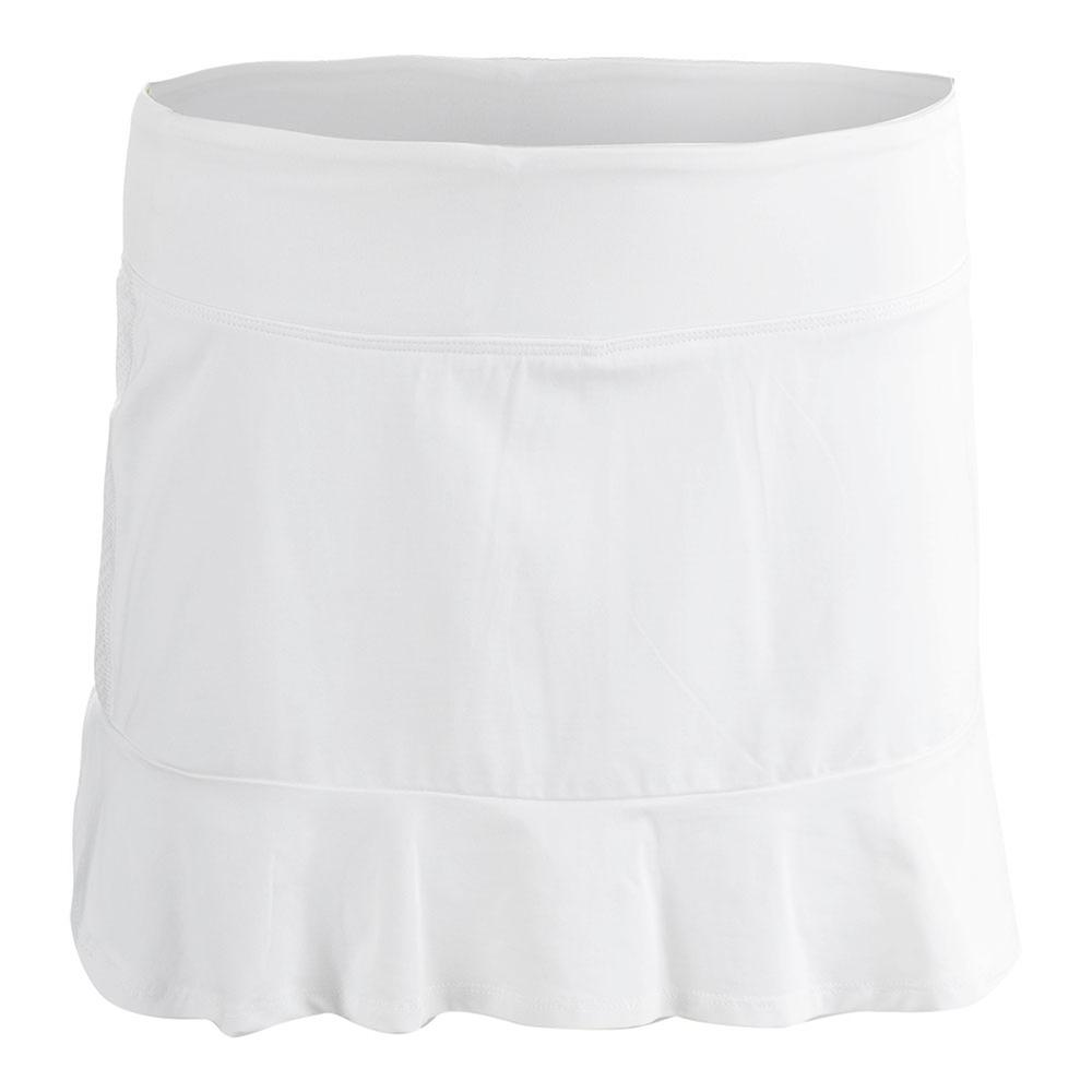 Women's Curve Tennis Skort White