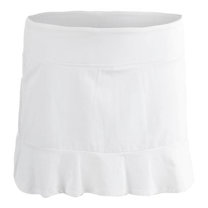 Women`s Curve Tennis Skort White