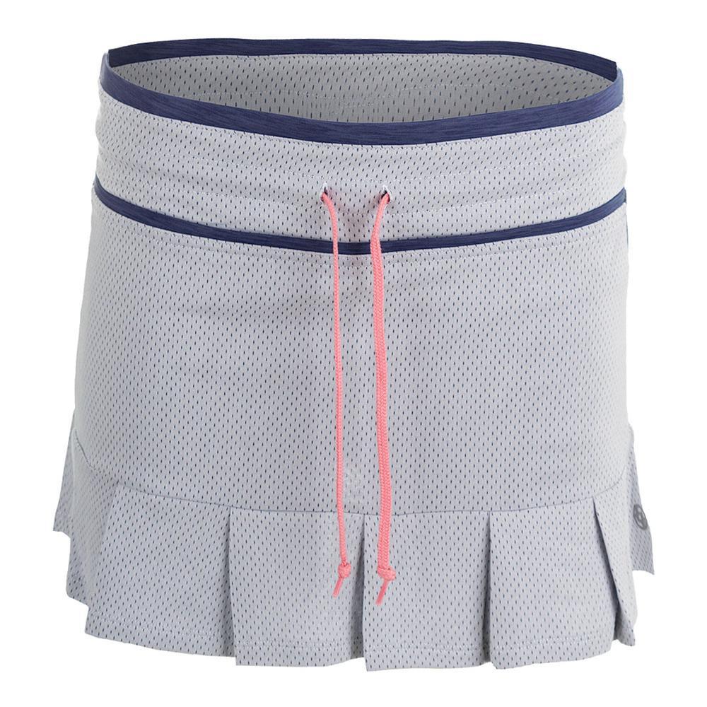 Women's Vintage Tennis Skort White