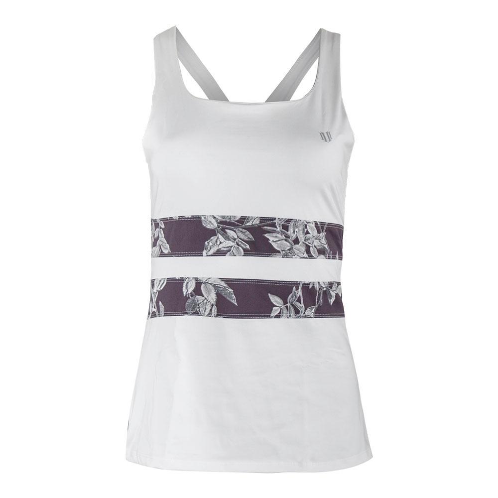 Women's Excel Tennis Tank White