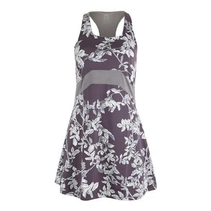 Women`s In Bloom Tennis Dress Datura Print