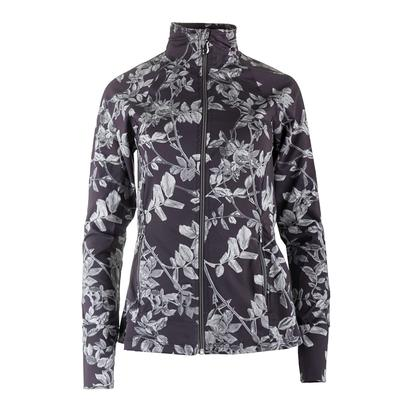Women`s Finish Line Tennis Jacket Datura Print